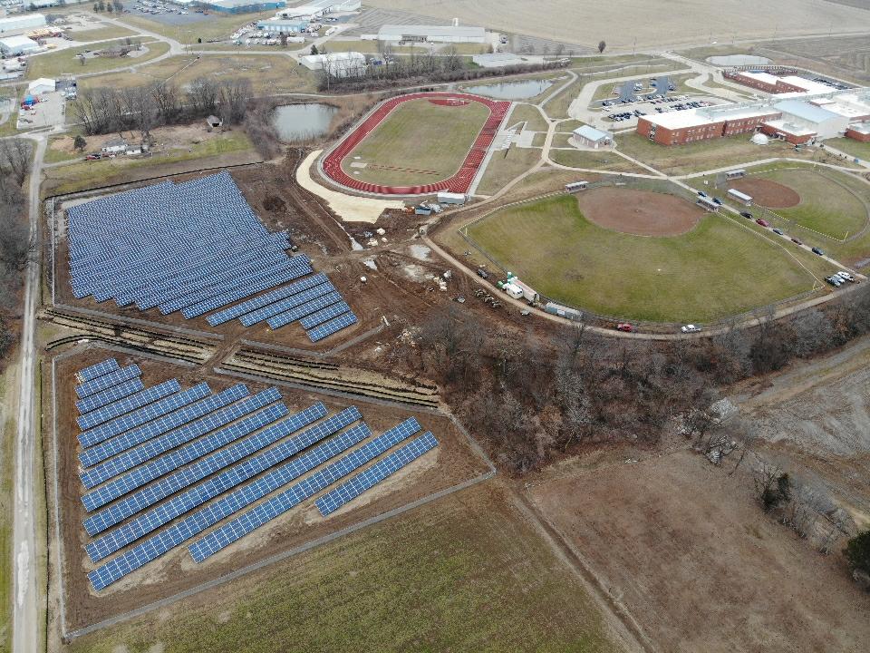 Belle Valley School Solar Array